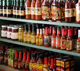 general store has huge hot sauce selection