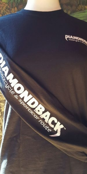long sleeve t shirt diamondback 221a nc morotcycle car route