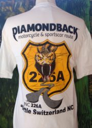 diamondback 226a crew neck t-shirt white
