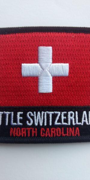 little switzerland nc iron on patch
