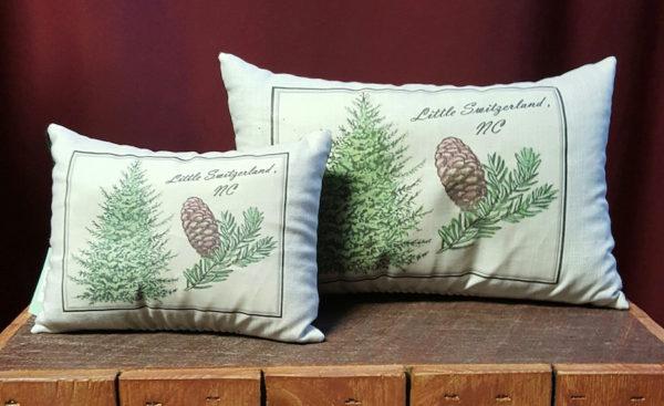 little switzerland nc aroma therapy pillows balsam fir scent