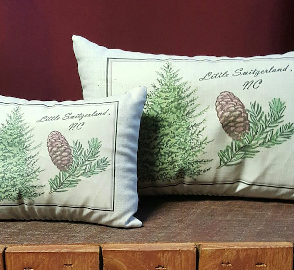 little switzerland nc aroma therapy pillows balsam fir scent