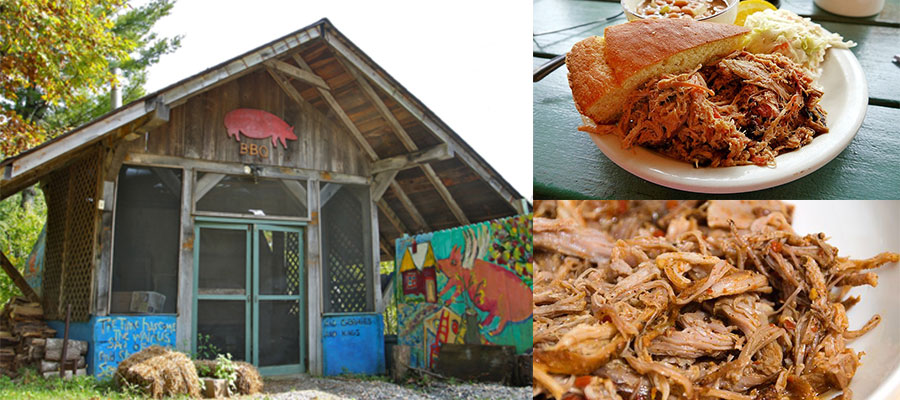 north carolina bbq trail barbecue restaurant smokehouse best in nc
